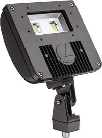 Lithonia D Series Size 1 Led Flood With Knuckle Mount