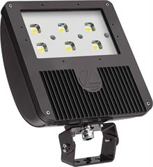 Lithonia D-Series Size 3 LED Flood with Yolk Mount