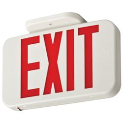 Lithonia EXR LED Emergency Exit Sign with Battery Back Up