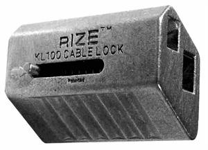 Rize Enterprises KL100 - Cable Lock Connector Fastners for Use With ...