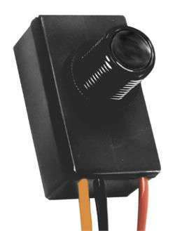 12 volt button photocell dusk to dawn sensor