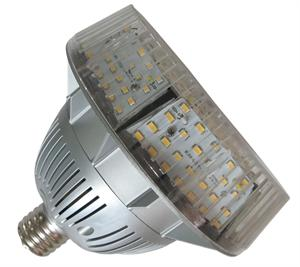 LED Retrofit Bulb for high bay and parking garage lighting fixtures