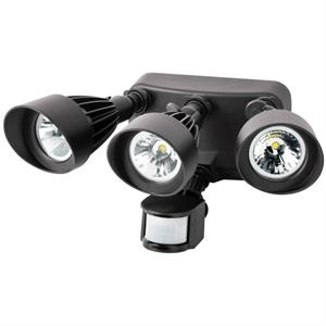 Morris 72570 Triple Head Motion Activated Security Light