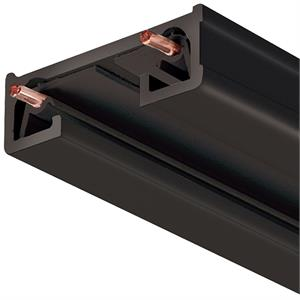 Juno Trac-Lites R Series 120V 4 Foot Long Black Track Lighting Section