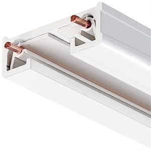Juno Trac-Lites R Series 120V 8 Foot Long White Track Lighting Section