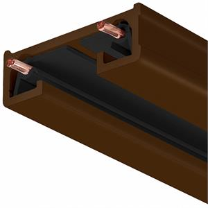 Juno Trac-Lites R Series 120V 2 Foot Long Bronze Track Lighting Section