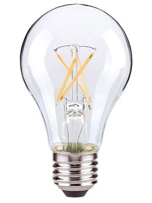 Satco Vintage A19 LED Crossed Filament Light Bulb