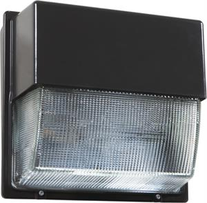 Lithonia LED Dark Bronze Wall Pack Glass Lens