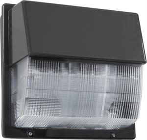 Lithonia LED Dark Bronze Wall Pack Polycarbonate Lens