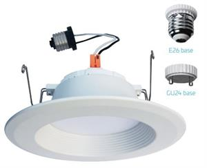 EiKO DK6 Series 5 or 6 Inch LED Downlight Retrofit Kit