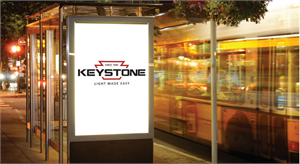 Keystone Sign Hero LED Sign Tube with R17D Rotatable Base