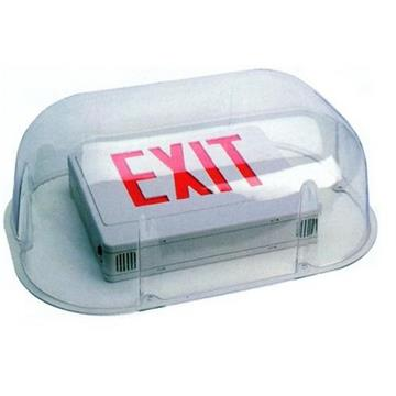 Morris LED Emergency Exit Combo with Vandal Guard