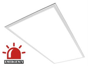Maxlite 2x4 LED Lay In Light Panel with Emergency Battery Backup