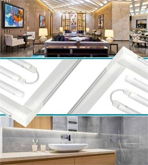 48 Inch 1330 Lumen 120v Line Voltage Linkable And Dimmable Led Under Cabinet Light Bar 5000k