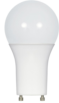 Satco A19 GU24 Omni-Directional Enclosed Dimmable LED Lamp