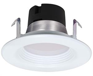 Satco 4 Inch Dimmable LED Downlight Retrofit