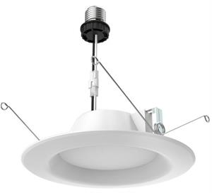 Satco 5 or 6 Inch LED Downlight Retrofit with Medium E26 Base