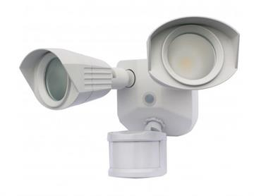 Satco LED Security Light with Motion Sensor