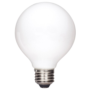 Satco Soft White Led Globe Light Bulb With Medium E26 Base