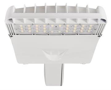Sylvania White LED Area Light for Parking Lots with Slipfitter Mount