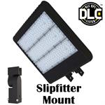 Morris LED Parking Lot Light with Adjustable Slipfitter
