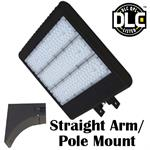 Morris LED Parking Lot Light with Straight Arm Mount
