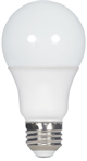 Satco A19 Omni-Directional Enclosed Dimmable LED Light Bulb