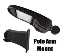 Morris Product LED Area Light with Pole Arm Mount