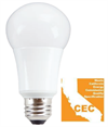 TCP California Quality LED A19 Light Bulb