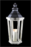 Luminara Antique White Winston Lantern