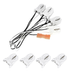 Maxlite 4-Lamp Wiring Harness for LED T8 SE Ballast Bypass Lamps