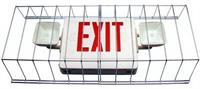 Wire Guard for LED Exit Emergency Lights Combos
