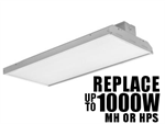 Eiko DLC 4.2 Premium 480 Volt LLH Warehouse Lighting LED High Bay Fixtures