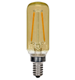 Satco T6 Tubular LED Antique Filament Light Bulb