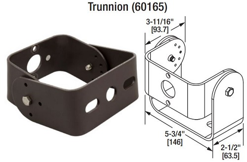 Sylvania LED Trunnion Dimensions
