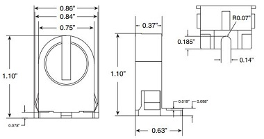 T5 Socket Dimensions