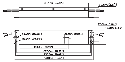 [SCHEMATICS_48DE]  Fulham ThoroLED non-dimmable constant voltage driver t1unv024v-100le 100w  4.17A 24vdc 120-277v LED power supply at Green Electrical Supply | Led 120 240 Wiring Diagram |  | Green Electrical Supply